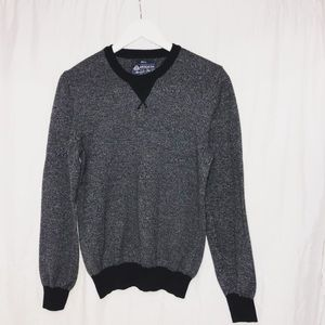 American Rag Cie Sweater Size small Navy And Gray